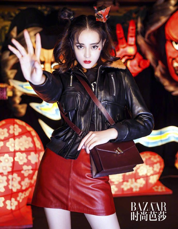 迪丽热巴最新芭莎时尚大片 可萌可性感随意切换