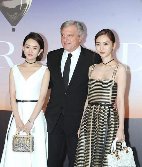 赵丽颖Angelababy美貌气质人气相当,为何能取代她成为迪奥代言人