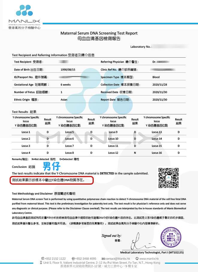香港万利分子检验中心:香港DNA验血的费用是多少?